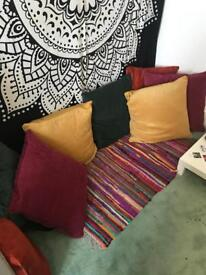 Eight Colourful Cushions New!