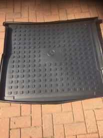 Mercedes Gle boot liner