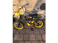 Small kids stinger bicycle