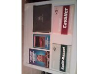 VAUXHALL CAVALIER Mk2 (1987) OWNERS HANDBOOK & WALLET