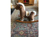 rocking horse mamas and papas used and loved no sounds battery gone in ear but works well