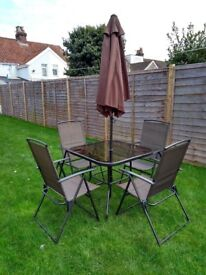 Dunelm patio set
