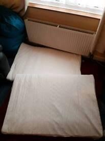 2 cot mattresses
