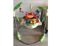 FISHER PRICE RAINFOREST JUMPEROO IN EXCELLENT CONDITION FOR SALE