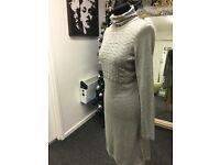 Mexx Knitted Dress Grey