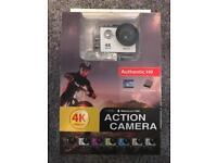 4K Waterproof Action Camera