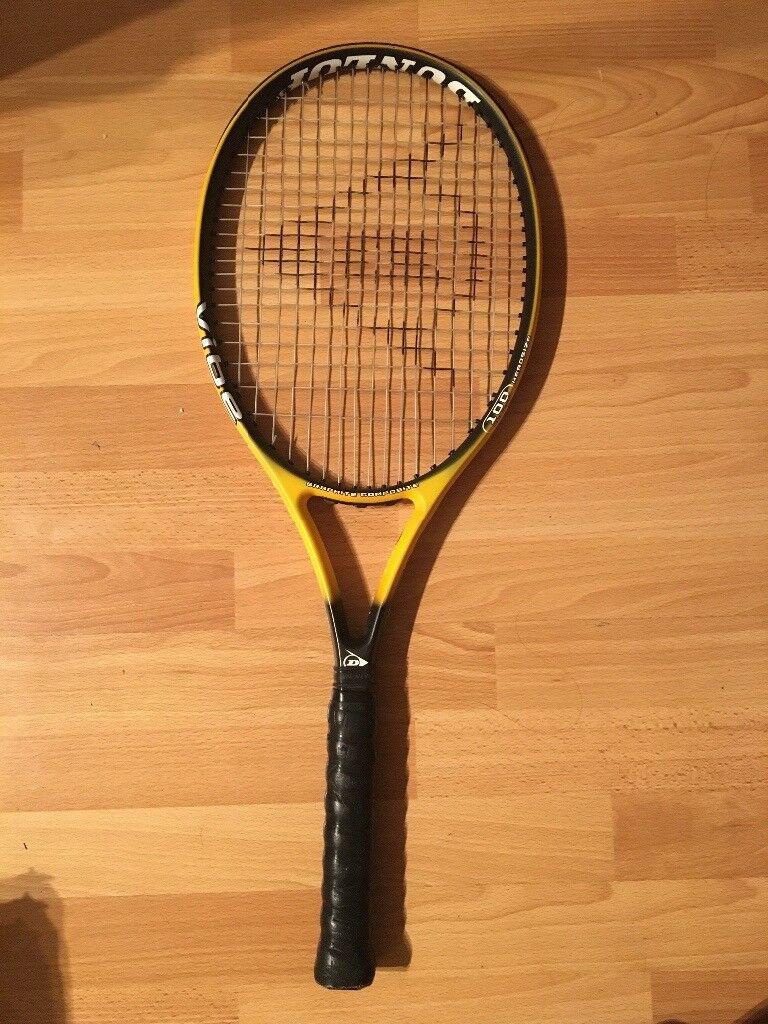 Dunlop Adult Tennis Racquet + 12 Tennis Balls,