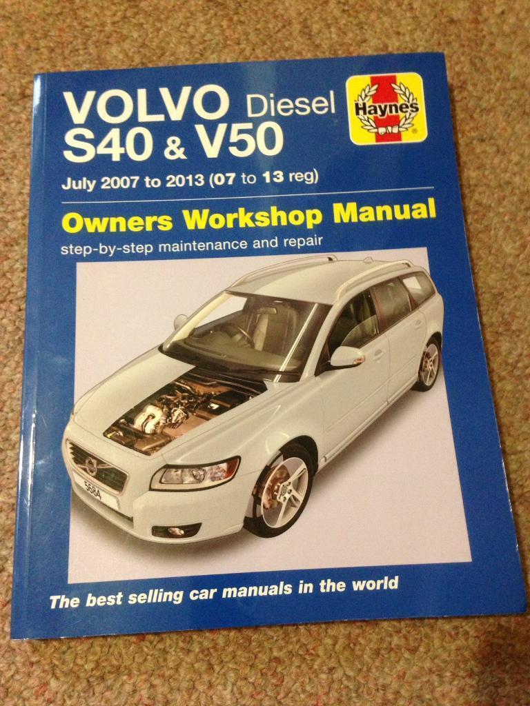 Volvo S40 & V50 Haynes Manual
