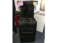 NEWWORLD 50CM ALL GAS HIGH LEVE COOKER IN BLACK