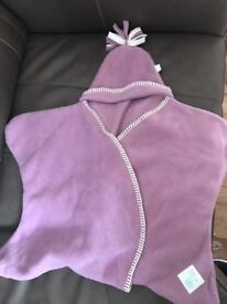 Newborn wrap blanket