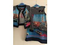 Rosalina Senoritas Girls dress & jacket