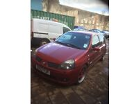 Clio 172 sport flame red cheap bargain track toy