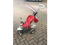 Summer trike with handle