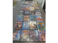 90+ DVDs including all children's favourite and 5 Disney classic.