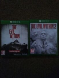 The Evil Within 1 & 2 (Xbox one)