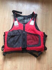 Tribord ba500 70n buoyancy vest, only used once