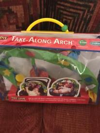 Baby toy play arch