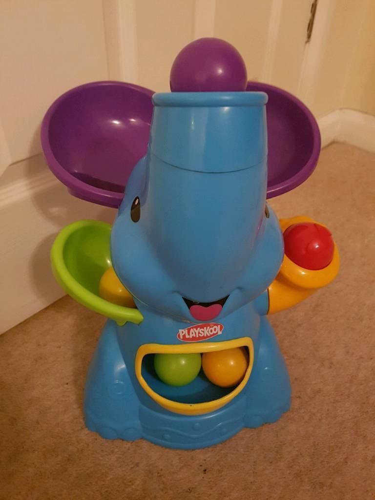 Playskool poppin park elefun elephant toy
