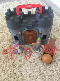 Fisher Price Take & Play castle and figures