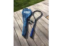 Carbon squash racket