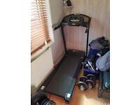 Pro Fitness Electric Treadmill w/ Speaker