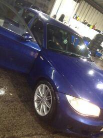 BMW 118D M SPORT BARGAIN 55 LE MANS BLUE BARGAIN