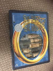 Lord of rings chess sets