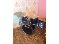 Rock burn drum set