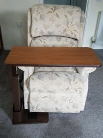 OVER CHAIR TABLE, AM FAB RIGHT HAND MODEL