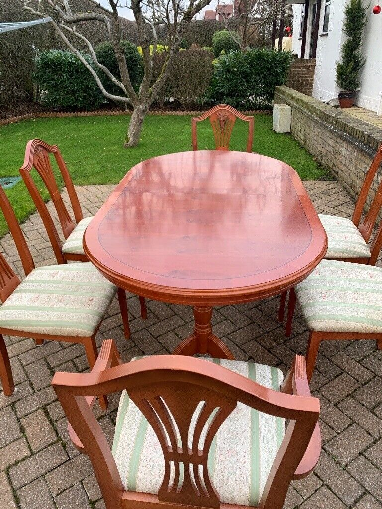 Dining Table And Chairs Regency Reproduction In Uxbridge London Gumtree