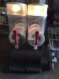 Slush Machine 2 x 10 Litre Bowls,Good Clean Working Condition,2 Available Runs Off 13 Amp Plug