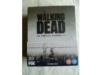 The walking dead Season 1 - 7 blu ray box set (new and sealed) £60