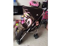 Limited Edition Juicy Couture Maclaren Stroller Pushchair!