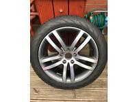 VW Touareg or Audi Q7 20 inch alloy wheel