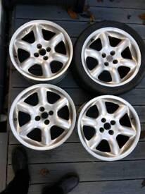 """MG TF 16"""" alloy wheels"""