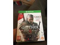 The witcher Xbox one for sale