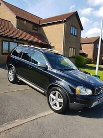 RARE VOLVO XC90 2.4 D5 2010 R-DESIGN SE (PREMIUM PACK) WITH DVD PLAYER TOW BAR AND ROOF RAILS