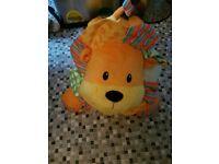Babies activity lion