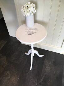 Shabby chic cream table