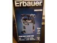 Erbauer spray gun new in box