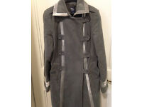 Beautiful GAP Coat Military Style, Size 14, Velvet Details
