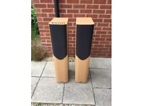 Mission m34 floor standing speakers