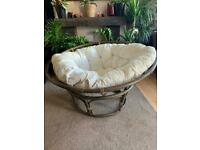 Vintage Papasan chair