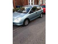 Honda Civic 1.6 53 plate with free Sony Ps3