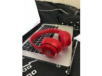 Beats Solo2 On-Ear Headphones (Red),