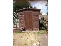 8ft by 6ft epex shed