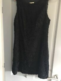 Ladies Monsoon Size 16 Black Evening Dress