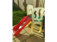 Little tikes hide and climb slide