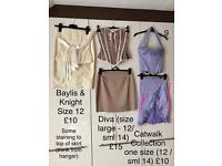 Corset Suits / Outfits - size 12 / 14