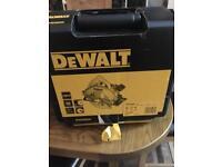 Dewalt DWE560K circular saw 110v brand new